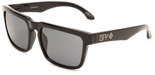 Spy Optic Helm Flat Sunglasses, Black Frame/Grey Lens, One - Spy Glasses Helm
