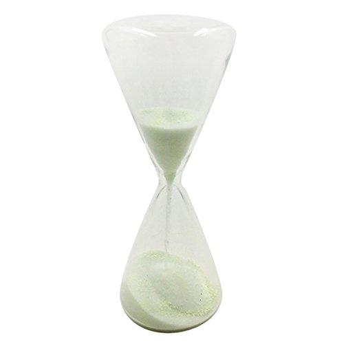 leuchten im Dunkeln für Kinder Zähne 1 Minute Glas Sanduhr Sanduhr Uhr