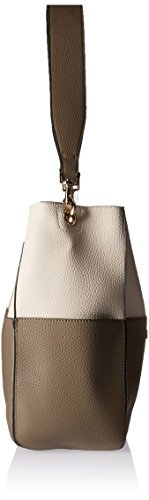 White One Crossbody Shoulder Taupe Pouch Taupe Removable Women's Nikky Hobo Taupe White Bag Size qYvUngxIwz