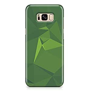 Samsung S8 Plus Case Geomaterical Pattern Green Metal Plate Light Weight Samsung S8 Plus Cover Wrap Around