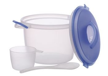 Price comparison product image Microwave Rice Cooker - 6 Cup Capacity