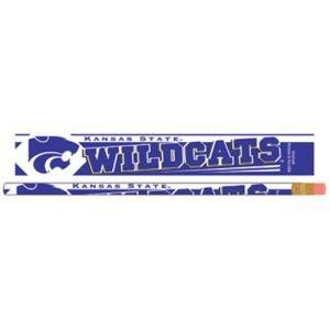 WinCraft Kansas State Pencil 6-pack