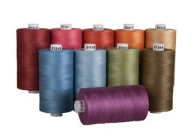 Connecting Threads 100% Cotton Thread Sets - 1200 Yard Spools (Country Garden - set of ()
