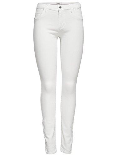 Only Jeans skinny fit blanco Rain de XS/30 blanco