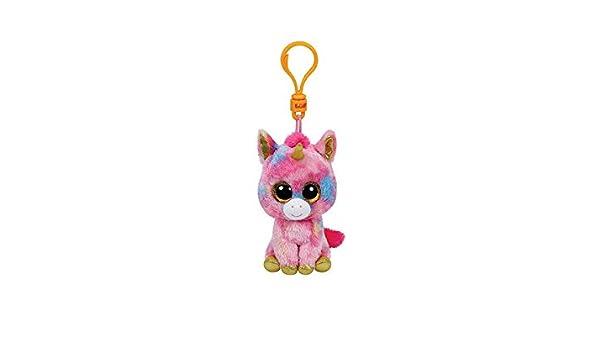 Beanie Clips - Fantasia, llavero unicornio, 10 cm (Ty ...