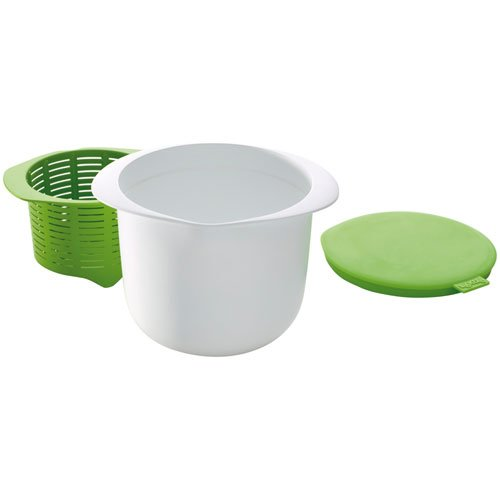 Lékué Recipiente para Hacer Queso, Verde, Centimeters product image