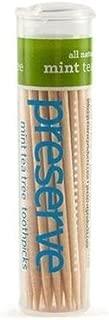 product image for Preserve - Mint Tea Tree Toothpicks, 24 x 35 CT