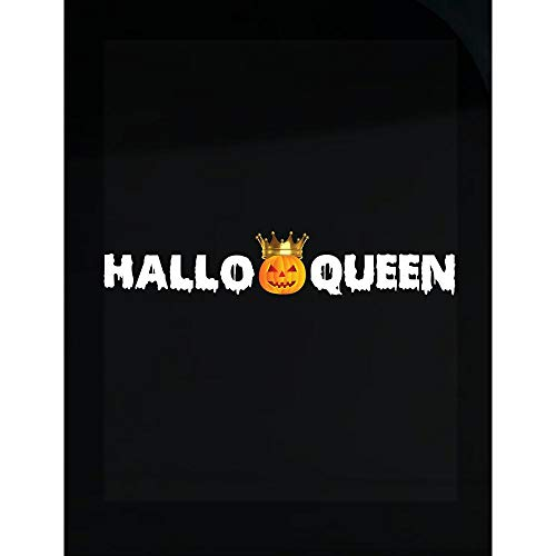 worlddesignsclub Hallo Queen for Girls on Halloween - Transparent -