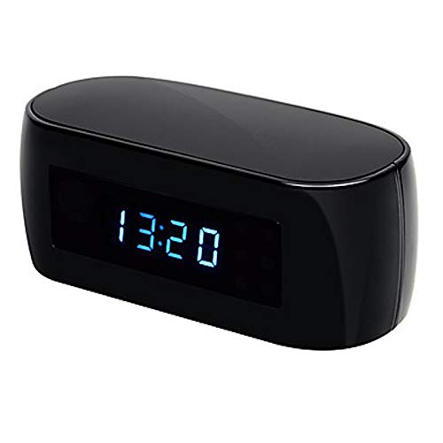 Amazon.com : WiFi Camera Alarm Clock with Motion Detection Night Vision hd 1080p Video Recorder Wireless IP Cameras Support iOS/Android pc : Camera & Photo