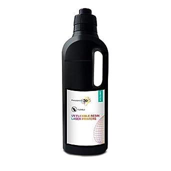 Photocentric 3D UV DLP Firm Resin 1kg, Nero, 10: Amazon it