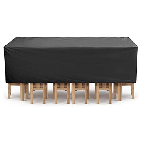chollos oferta descuentos barato NASUM Funda Protectora para Muebles Copertura Impermeable para Mesas Sillas Sofás Cubierta de Exterior 315cm x 160cm x 74cm