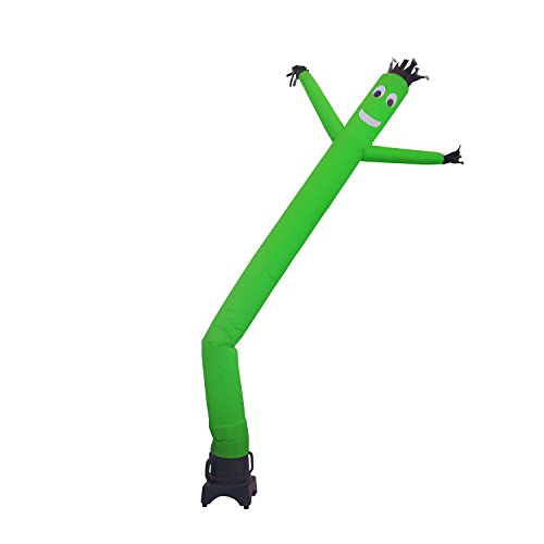 MOUNTO 8FT Air Puppet Dancer with 1/3hp blower Complete Set 8FT 8inch (Green) by MOUNTO