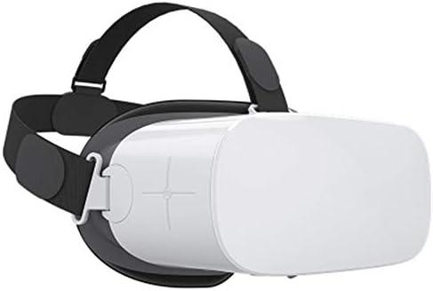 バーチャルリアリティのメガネ,3dメガネあらゆる種類のゲーム/ビデオ用のヘッドマウントプラスチック没入型ゲーム。,White