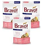 Bravo Bonus Bites Freeze Dried Salmon Treats - 3 PACK