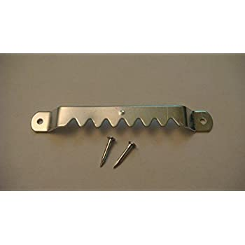 ADS Large ZP Sawtooth Hanger with Nails 100 Pack by ART DISPLAY SYSTEMS