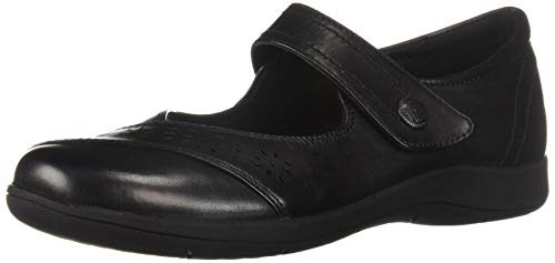 Rockport Women's Daisey Mary Jane Flat, Black, 8.5 M US