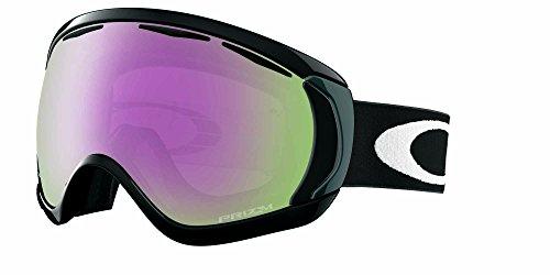 Oakley Men's Canopy Snow Goggles, Matte Black, Prizm Hi Pink, Large