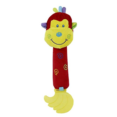Z-CGiftHome Monkey Pacify Import Advance Bell Music Plush Puppets Toys