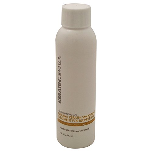 (Keratin Complex Natural Keratin Smoothing Treatment for Blonde Hair, 4)
