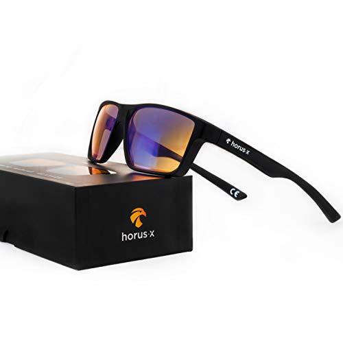 Horus X – Gafas anti luz azul GAMING 2.0 – Gafas de reposo Filtro Proteccion Ultima – Anti luz azul para pantallas…