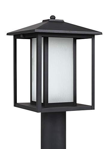 (Sea Gull Lighting 89129-12, One-Light Black Finish)