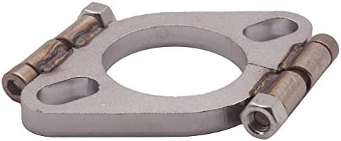 Shiwaki 排気フランジ 排気修理用 楕円 フランジ パイプフランジ 換気システム用