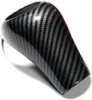 Cubierta para pomo de palanca de cambios de consola central interior de color negro