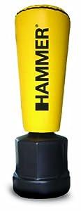 Hammer Standboxsack Impact Punch, gelb, 55x162/177/192 cm