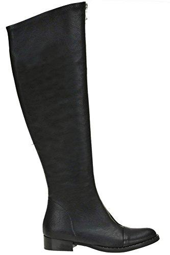 Mcglcas04025i Noir Bottes Femme Metisse Cuir 6qE5nx8