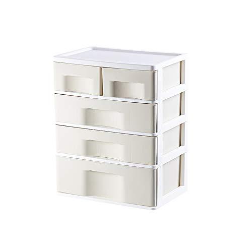 Storage Box 4 cajones,cajones de plástico,Caja de Almacenamiento de división - Ropa Interior,Calcetines,armarios