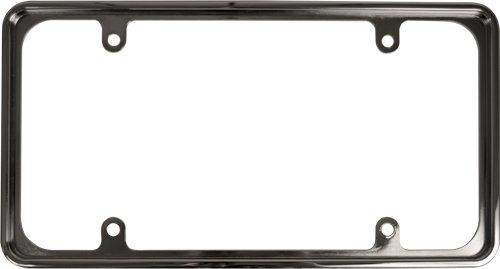Custom Accessories 92811 Chrome Recessed License Plate Frame, Frames ...
