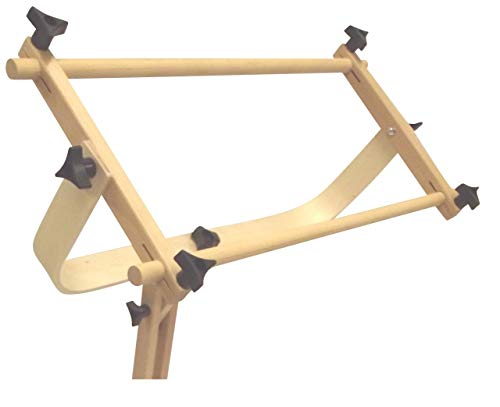 Frank A. Edmunds Sticher's Wonder! Adjustable Craft Stand with Split Rail Scroll Frame, 6115 ()