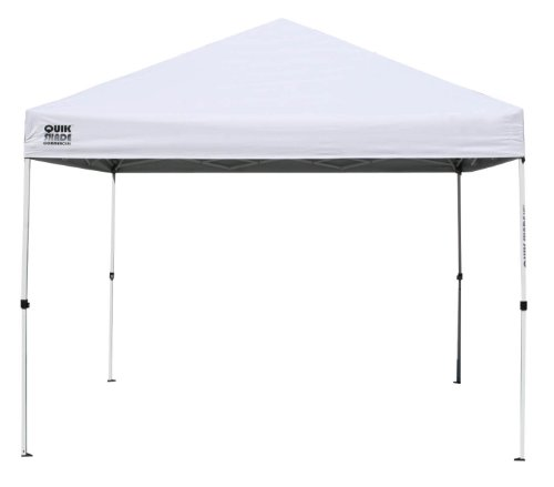 Quik Shade Instant Canopy 10' X 10' Steel White