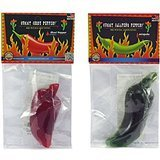 Chile Pepper Gummy 2 Pack – Apple-Jalapeno and Cherry-Ghost Chile - 3.5 oz Total Weight - Sweet and Spicy! - Perfect Gift for Chile Lovers