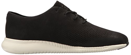 Cole Haan Mujer 2.zerogrand Laser Wing Oxford Black Nubuck Ivory