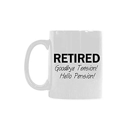 Amazon.com: 11oz Funny Retirement Quotes & Sayings Mug ...