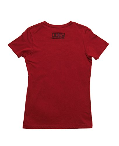 Obey Women's Go Campaign Boyfriend T-Shirt