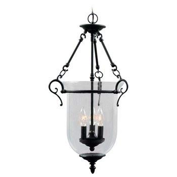 Livex Lighting 5022-07 Legacy 3 Light Bronze Chandelier with Clear Glass