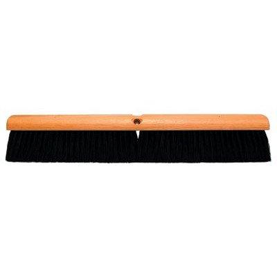No. 20 Line Floor Brushes - 30'' floor brush w/m60 2e7b2d black plast