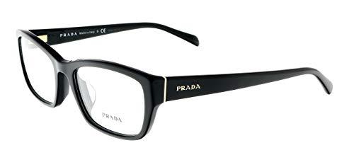 - Prada PR18OV Eyeglasses-1AB/1O1 Black-54mm