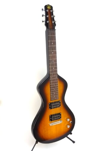 Asher Electro Hawaiian Junior Lap Steel Guitar - Tobacco - with gig bag by Asher Electro Hawaiian Junior Lap Steel