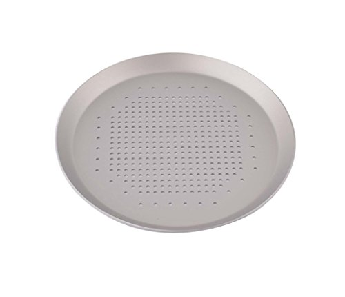 Astra Gourmet Aluminum Perforated Pizza Crisper/Pizza Screen/Pizza Disk, 10-inch (Homemade Italian Dinner Gift Basket)