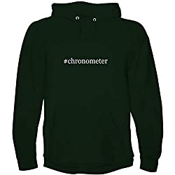 The Town Butler #Chronometer - Men's Hoodie Sweatshirt, Forest, X-Large