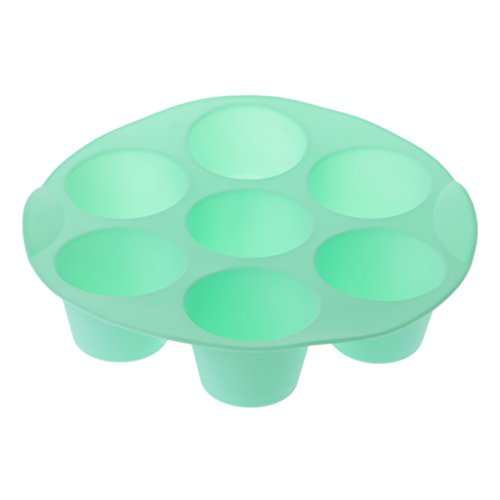 Sixsons 7-Cup Round Silicone Cupcake Cake Mold Baking Chocolate Jelly Muffin Pan (Molds Silicone Bakery)