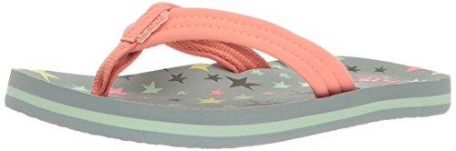 Reef Girls' Little AHI Sandal, Twinkle Star, 5-6 Medium US T