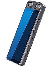 Domary / M50 BT MP3 Player de música portátil Mini player de música Tela de 2,98 polegadas com alto-falante Rádio FM Gravação de rádio FM estéreo automático MP3 MP4 3,5 mm Suporte para entrada de áudi