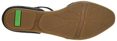 El Naturalista Women's Nd54 Ankle Strap Sandals Black ezW32
