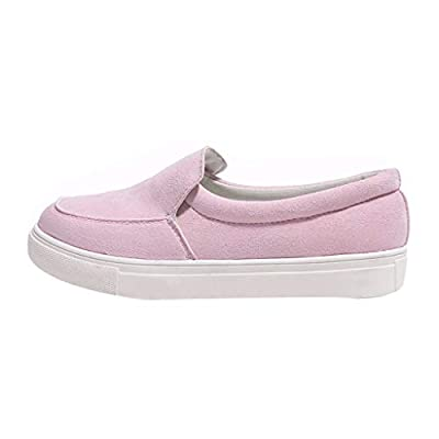 RAINED-Womens Flatform Loafers Slip on Sneakers Penny Flat Platform Shoes Low Top Classic Sneakers