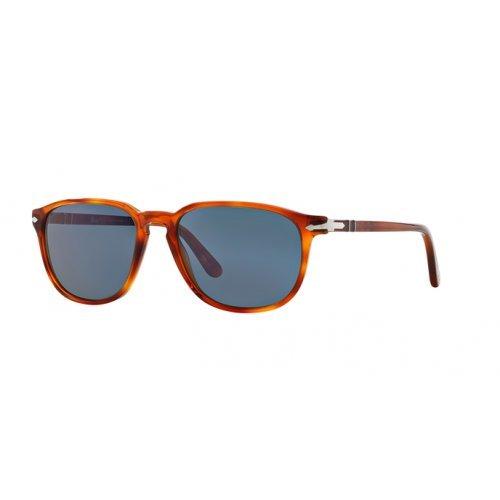 (Persol Sunglasses PO3019S 96/56 Light Havana 52MM NEW)