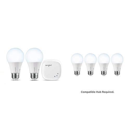 Sengled Smart Room Kit: Daylight A19 2pk kit + 4 Daylight Smart A19 LED